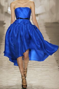 Jason Wu belted colbalt blue dress. if you cant tell colbalt is my current favorite