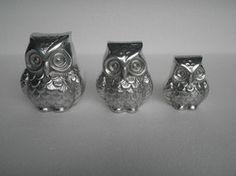 Metal Owl Sculpture