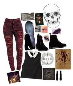 """""""devils daughter 5#"""" by clumsycinderella2992 on Polyvore featuring Dr. Martens"""