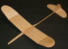 Graupner Mini - Free Flight Balsa Wood Glider