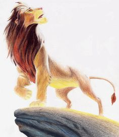 The Lion King, 1994  By Enzoda at DeviantArt