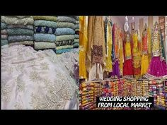 Pakistani Wedding Dresses From Local Bazaar Feat. Bengali Bride, Bengali Wedding, Desi Wedding, Wedding Wear, Pakistani Formal Dresses, Wedding Embroidery, Indian Outfits, Youtube, Embroidered Dresses