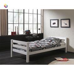 Massivholzbett Edwards, 90 x 200 cm Kids Single Beds, Lit Simple, White Bedding, Bed Furniture, Kid Beds, One Bedroom, Neutral Colors, Decoration, Interior Styling
