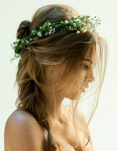 Boho Chic Hair Inspiration - Rustic Wedding Chic