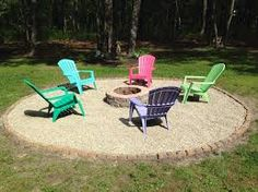 Image result for fire pit ideas with florida cap rock boulders