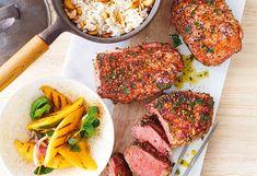 Entdecken Sie auf frisch gekocht tausende fantastische Rezeptideen, Schritt-für-Schritt Anleitungen und jede Menge Rezeptvideos. Mango Salat, Ratatouille, Steak, Ethnic Recipes, Food, Meat, Crickets, Easy Meals, Tutorials
