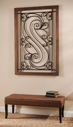 Metal Scroll Plaque #kirklands #innovativedesign