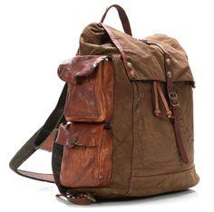Campomaggi Lavaggio Stone Backpack C1653TVVLTC-1702