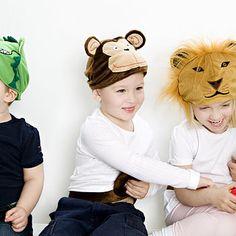 Fab animal hats from Notonthehighstreet.com