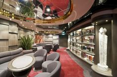 MSC Divina - MSC Yacht Club - Library