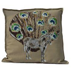 Hand geprint kussenhoes zeefdruk design print door SuzanneKruisdijk