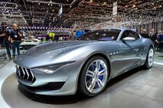 The Maserati Alfieri might go into production as early as next year with a turbocharged V6