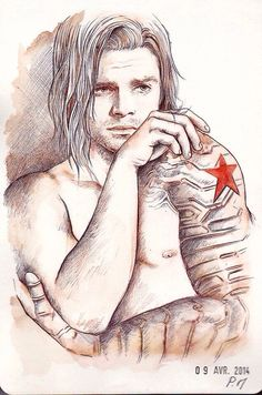 winter soldier art | Amazing Winter Soldier art