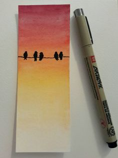 Signets aquarelles Signets aquarelles - Signets aquarelle Signets aquarelle The Effective Pictures We Offer You About - Creative Bookmarks, Diy Bookmarks, Corner Bookmarks, Watercolor Bookmarks, Watercolor Paintings, Tattoo Watercolor, Watercolor Landscape, Abstract Watercolor, Watercolor Illustration