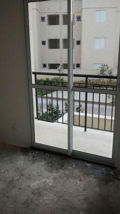 vista do apartamento. . (foto tirada em visita)