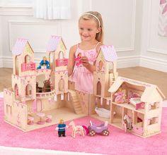 LDD Kidkraft - Maison de poupées Château de Princesse 65259