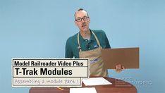 T-Trak Group Project: Assembling a module, Part 1 | ModelRailroaderVideoPlus.com