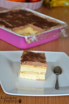 Ciasto kostka królowej bez pieczenia Cakes To Make, How To Make Cake, Polish Recipes, Polish Food, Homemade Cakes, Cake Cookies, Tiramisu, Nutella, Sweet Tooth