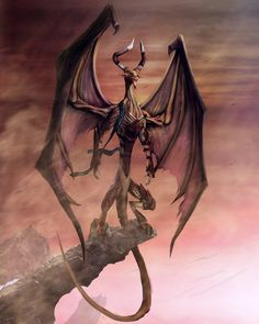 Nicol Bolas by ~Borrden on deviantART