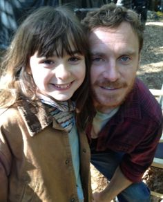 T.J. McGibbon and Michael Fassbender