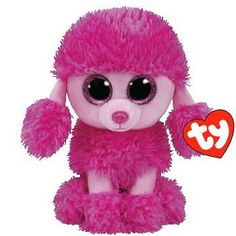 TY Patsey Poodle Beanie Boo