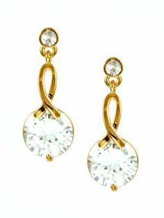 14kgp Cubic Zirconia Cz Drop Bow Knot Earrings Gold Tone le Jane. $29.00. 10mm Large Cubic Zirconia Drop. 14K Gold Plated. Elegant and Classic Style. Drop Stud Earrings. Bow-Knot Drop Earrings. Save 41% Off!