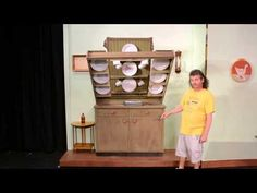 Mary Poppins the Musical by Stage Crafters - Banks' Kitchen Scene- Desig...