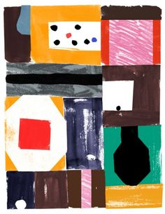 Nicolas Burrows Print 3, Apothecary $35