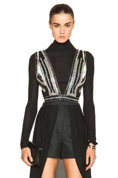 Sass & Bide Tell Me More Top in Black | FWRD