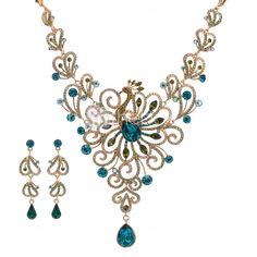Conjunto de joyas Diamante/Cristal/Rhinestone Zirconia Cúbica/Aleación/Rhinestone De mujeres 2015 – €91.19
