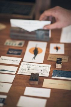 #letterpress #theaestheticunion #businesscards #specialtyprints #custom