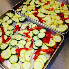 Oven Roasted Veggies.