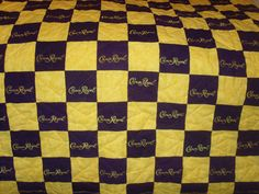 Custom Made to Order Crown Royal Quilt Couch by LuluBelleQuilts