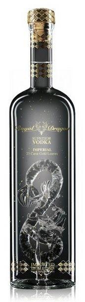 Royal Dragon Superior Imperial vodka | Exclusive Drinks