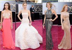 2013 Oscars red carpet
