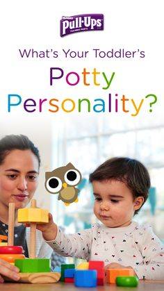 Does your little potty trainer love to work toward rewards? If so, they may have the potty personality of an Owl. Find out for sure by taking the Pull-Ups Potty Personality Quiz. Developed in conjunction with Dr. Heather Wittenberg, the quiz can help you discover your child's potty personality and the best way to partner with them as you train together.
