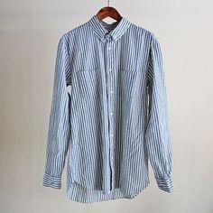 LVC (LEVI'S VINTAGE CLOTHING) -1920S STRIPE HOMERUN SHIRT (MEN'S)/リーバイス・ヴィンテージクロージング