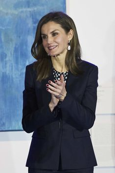 Queen Letizia of Spain Photos - Queen Letizia of Spain attends the Gold Medals of Merit in Fine Arts 2016 ceremony at the Pompidou Center on February 6, 2018 in Malaga, Spain. - Spanish Royals Deliver the Golden Medals to the Merit in Fine Arts 2016