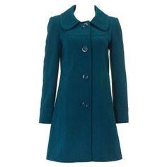 Dorothy Perkins teal coat