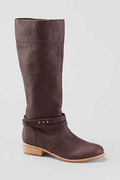 Womens Blakeley Riding Boots from Lands End