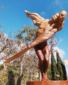 Are we human or are we dancer? @dawsoncolefineart Sculpture Garden