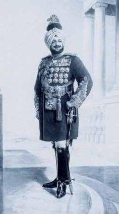 Maharaja Bhupinder Singh Patiala By Rohit Sonkiya