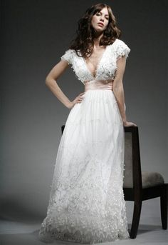 Face the adventure...wedding dress