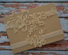 Champagne / Light Gold Wedding Garter Set Lace Garter Set