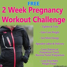 14 Day Jumpstart Pregnancy Workout ChallengeDaily workouts and motivation. Pictures and workout videos included #pregnancy #pregnancyworkout #pregnancyworkoutathome #pregnancyworkout1strimester #pregnancyworkouts #pregnancyfitness #fitpregnancy