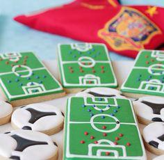 Football Cookies!!!!