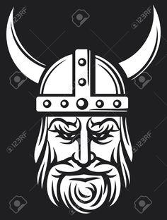 Viking Warrior Head   Allpix.Club