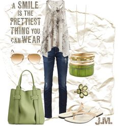 """""""The Prettiest Thing"""" by jenniemitchell ❤ liked on Polyvore"""