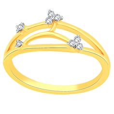 Giantti Women's 14KT Diamond Ring - IGL Certified (0.073 Ct, I1 Clarity, GH-Colour) * You can get additional details at the image link. (This is an affiliate link and I receive a commission for the sales)