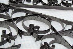 Recycled Crafts: Faux Wrought Iron Art